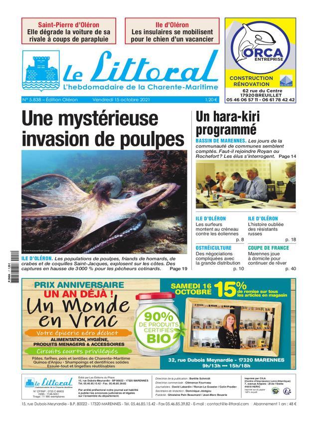 Le Littoral de la Charente Maritime