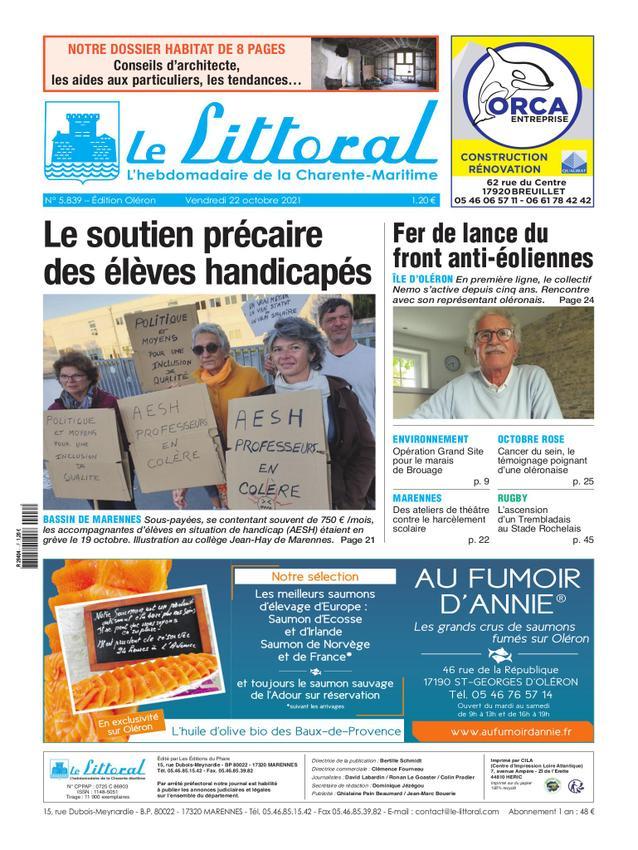 Littoral de la Charente Maritime