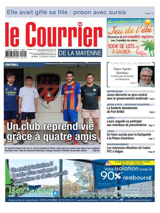 Courrier de la Mayenne