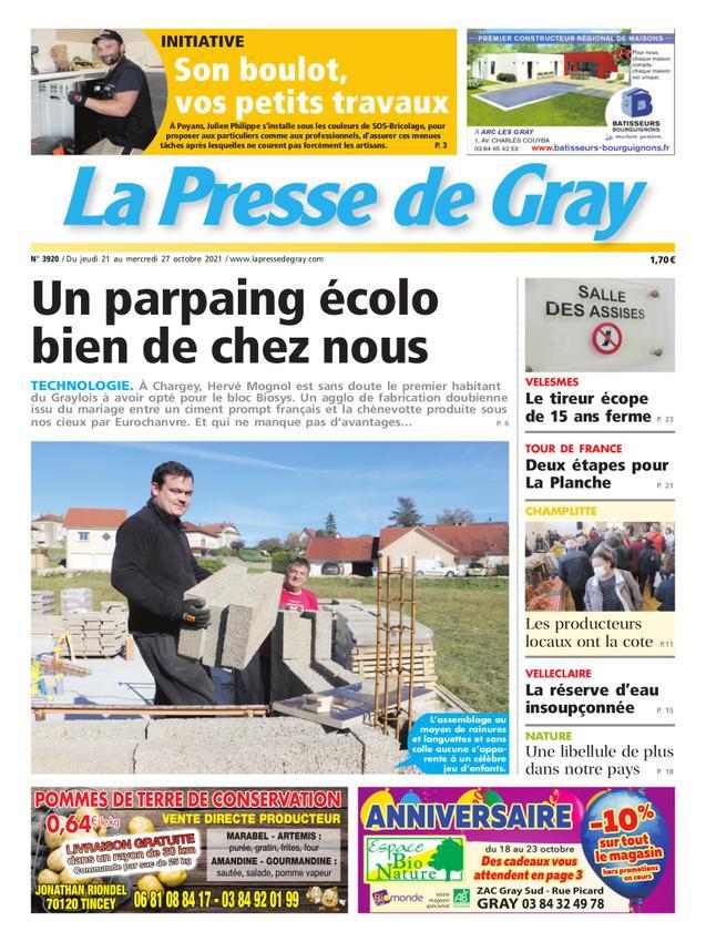 Presse de Gray