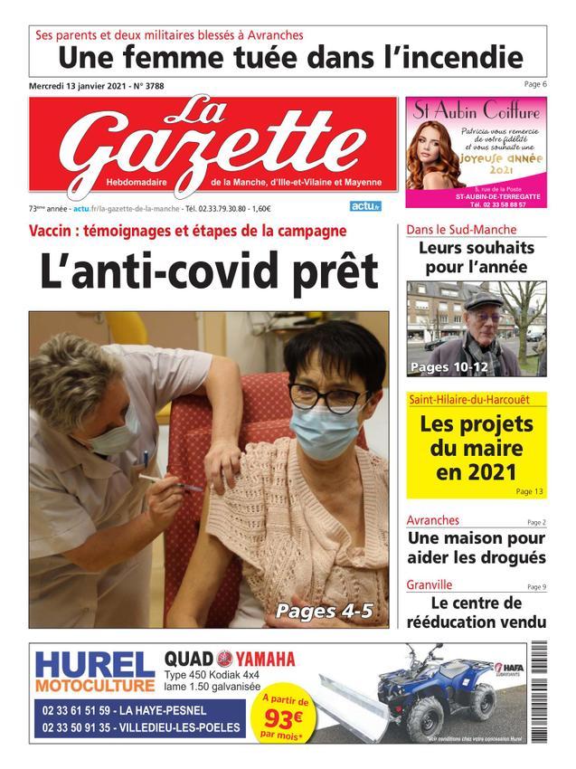 Gazette de la Manche, d'Ille-et-Vilaine, Mayenne