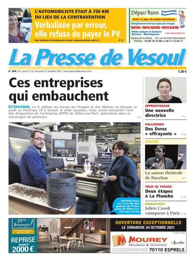 Presse de Vesoul